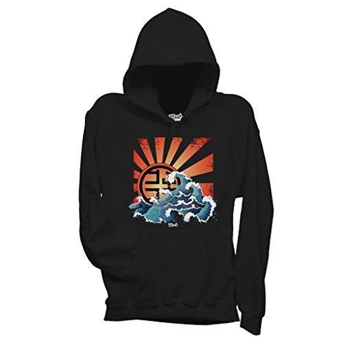 Sweatshirt Wave Giappone - Berühmt by Mush Dress Your Style