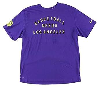 Nike Men's Basketball Needs DC Basketball Graphic Short Sleeve (Small, game royal)