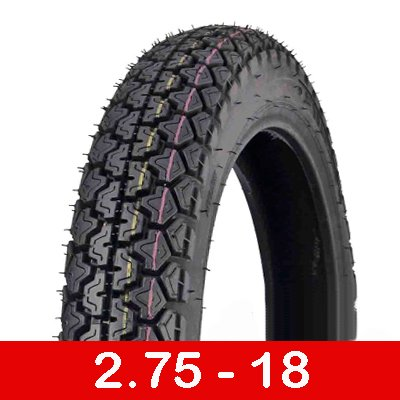 MMG Tire 2.75-18 Front or Rear Motorcycle Dual Sport On or Off Road