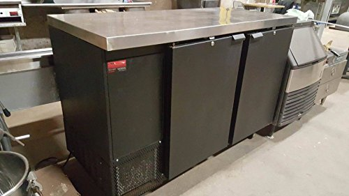 Commercial Continental BBC59 Bar Cooler Front Load Back Bar Restaurant Work Top (Back Bar compare prices)
