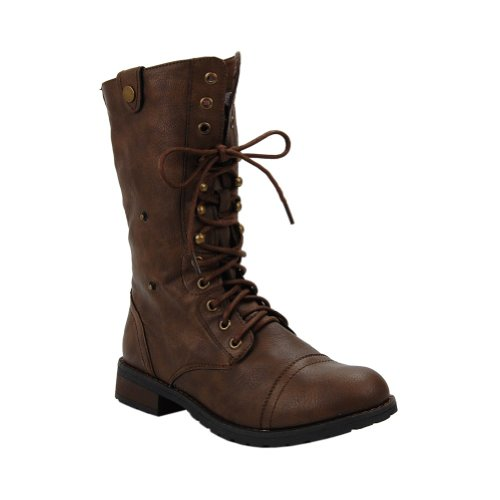 Mid Beauty Terra Calf Sweet Combat Taupe 01 Boot Women's Dark qgTOFx