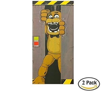 Forum Novelties Five Nights at Freddys Door Cover