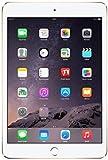 Apple iPad Mini 3 MGYK2LL/A NEWEST VERSION (128GB, Wi-Fi, Gold) (Certified Refurbished)