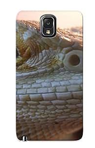 CUXhkJ-1095-PUjMB Storydnrmue Animal Lizard Durable Galaxy Note 3 Tpu Flexible Soft Case With Design
