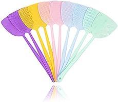 ValueHall 44.5cm Vliegenmepper 10 stuks Lange Handvat Fly Swatter Vliegenbescherming voor vliegen, muggen en insecten in...