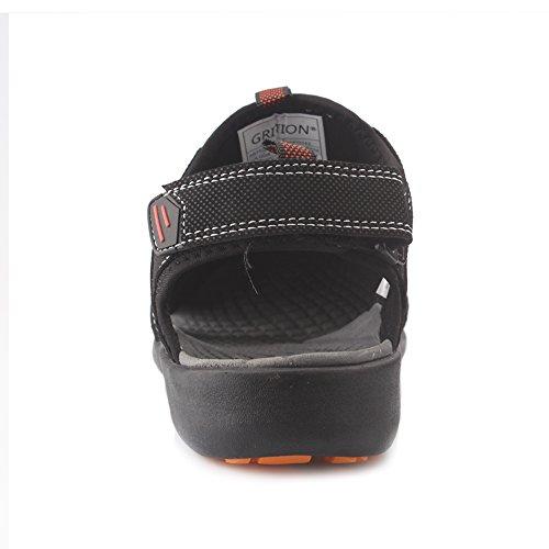 Pictures of GRITION Men's Outdoor Sandals Protective Toecap 5