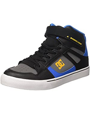 Shoes Youth Spartan High EV Leather Trainers