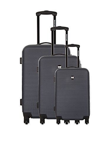 Bag Stone Set de 3 trolleys rígidos Dream Gris 66 cm Gris