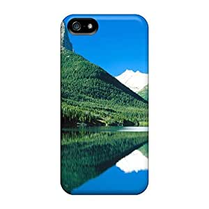 Iphone 5/5s Case Cover Tall Cliff In The Backwoods Case - Eco-friendly Packaging