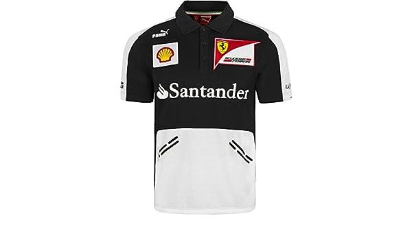 Ferrari Formula One Team Puma Polo de manga corta - Santander Racing  Amazon .es  Ropa y accesorios 866ca721b98