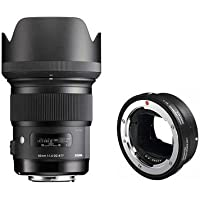 Sigma 50mm f/1.4 DG HSM ART Lens for Canon EOS Cameras - USA Warranty - Bundle with Sigma MC-11 Mount Converter, Sigma EF Lenses to Sony E Cameras