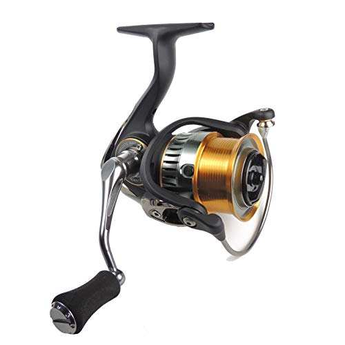 WPE Fishing Reel Carbon Body/Frame Lightweight 7.9oz with High Drag Strength Spinning Reel for Saltwater or Freshwater Aluminum Shallow Spool with Carbon Fiber Drag Left/Right Interchangeable 8+1 BB