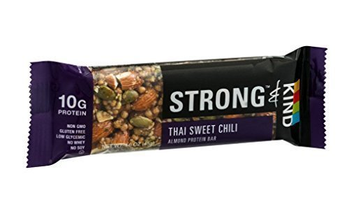 Strong & Kind Roasted Thai Sweet Chili Protein Bars, 4 - ...
