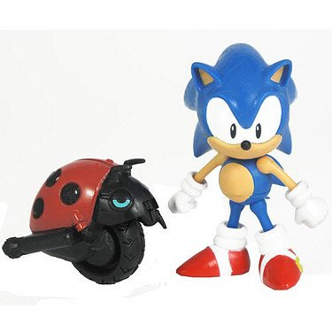 - Sonic 20th Anniversary 3.5 Inch Action Figure 1991 Sonic Moto Bug