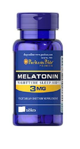 Fierté Mélatonine 3 mg de Puritan - 240 comprimés