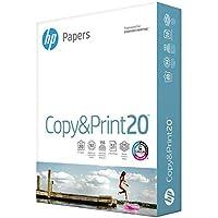 HP Printer Paper 8.5x11 Copy&Print 20 lb 1 Ream 500  Sheets 92 Bright Made in USA FSC Certified Copy Paper HP Compatible 200060