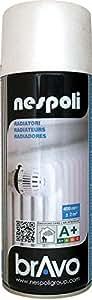 Radiador Nespoli Bravo RAL 9010 8180609 400 ml colour blanco