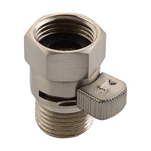 APL NW02-2 Brass Shut-Off Shower/Bidet Control Valve with Short Switch, Brushed Nickel