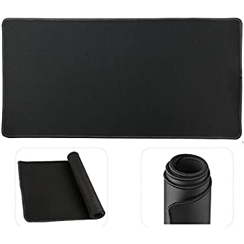 Cmhoo Large Mouse Pad Gaming & Professional Computer Extra Large Mouse Pad / Mat 27.5IN (7030 chunse Black)