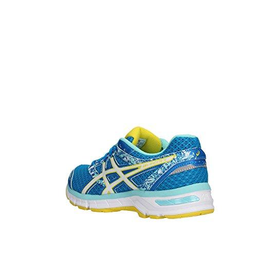 Asics Gel-excite 4 - zapatos de entrenamiento de carrera en asfalto Mujer Azul