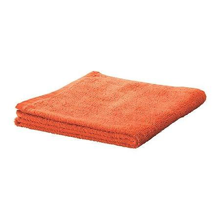 IKEA HAREN - Toallita, naranja / 4 pack / 4 Pack - 30x30 cm: Amazon.es: Hogar