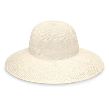 384fc6d9a577d Wallaroo Victoria Diva Sun Hat (adjustable   packable)  Amazon.co.uk ...
