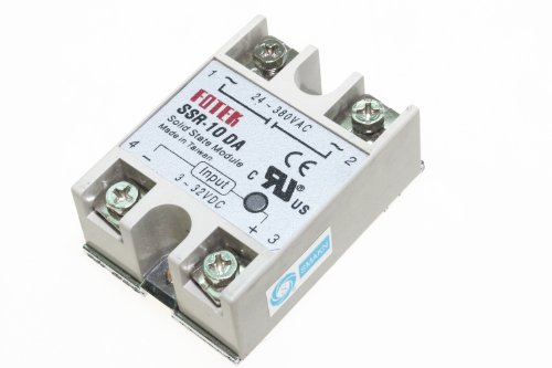 SMAKN SSR-10DA Solid State Relay 3-32V DC / 24-380V AC / 10A