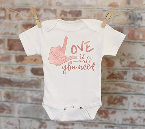 (Love Is All You Need Onesie®, Bohemian Onesie, Song Lyrics Onesie, Cute Baby Bodysuit, Cute Onesie, Boho Baby Onesie)