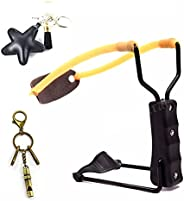 Xelue FF Fun Adult Toy Powerful Folding Slingshot Catapult for Hunting Outdoor Sport/Games