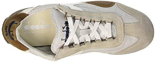 Unisex Equipe – Scarpe Perf Bianco SW Adulto L Diadora Low Top Bqd0B