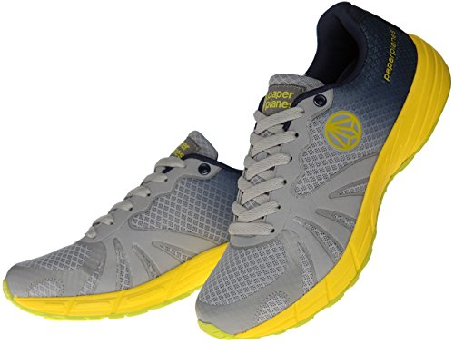Men 1194 8 Trendy 7 Navy Women Shoes Color Running Gradation 5 Gray 5 Mesh Paperplanes HBnx71qUww