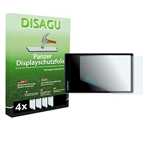 4 x DISAGU Armor screen protector for Garmin DriveSmart 61 LMT screen fracture protection film