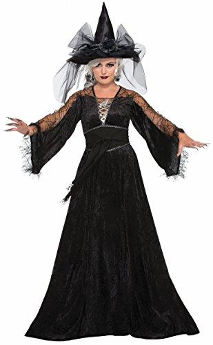 Forum Women's Spellcaster Wizard Costume, Multi, One (Wicked Elphaba Halloween Costume)