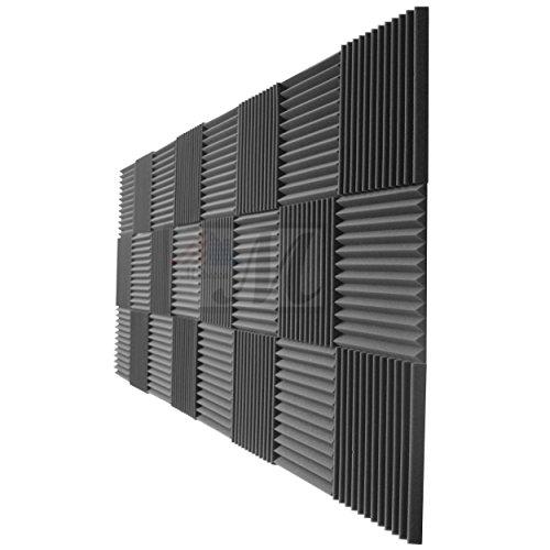 "12 Pack- Acoustic Panels Studio Foam Wedges 1"" X 12"" X 12"" - Image 5"