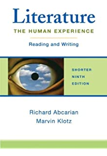 Amazon literature the human experience shorter edition literature the human experience shorter edition reading and writing fandeluxe Images