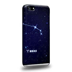 Case88 Premium DesignsThe 12 Zodiacal Constellations Aries zodiacal signs Carcasa/Funda dura para el Apple iPhone 5c