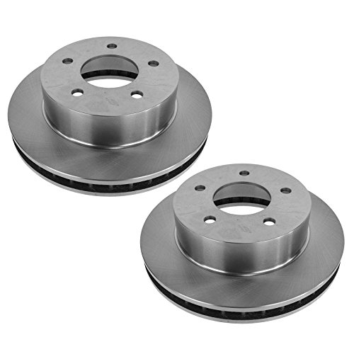 Brake Rotor Front LH RH Pair for 90-02 Chevy Astro GMC Safari w/AWD