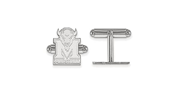 Solid 925 Sterling Silver University of North Carolina Crest Cuff Link