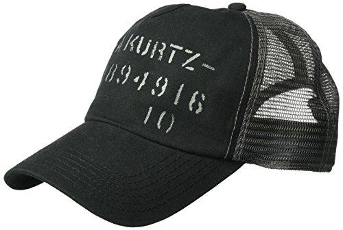 A. Kurtz Men's SPEC Trucker Baseball Cap, Black, OSFA ()