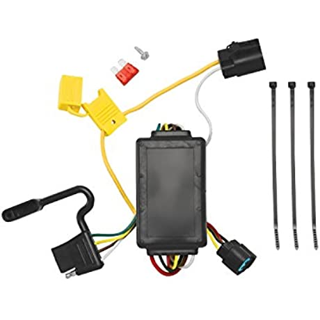 Tekonsha 118258 4 Flat Tow Harness Wiring Package With Circuit Protected ModuLite Module