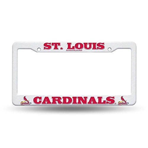 (Rico MLB Cardinals - SL Plastic Frame, 15 x 8, Logo Color )