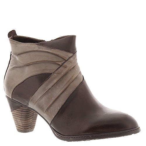 Spring Step Jazlyn Ankle Boots - Brown/Taupe 36, Brown/Taupe