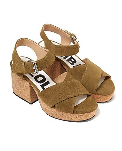 Bimba y Lola Women Cork platform sandal 181BZ1208 abS797YP