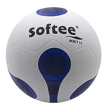 Balon Futbol Softee React - Futbol 11 - Color Blanco: Amazon.es ...