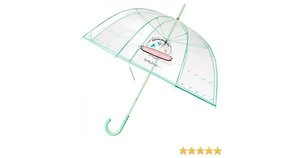 Paraguas burbuja transparente con frases tipo Wonder: Amazon.es: Equipaje
