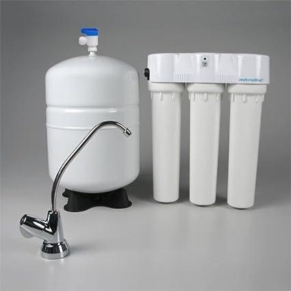 Microline tfc-4 ósmosis inversa agua potable sistema con monitor