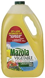Mazola Vegetable Oil, 128 oz
