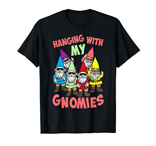 Hanging With My Gnomies Shirt | Gnome Christmas Lovers Gift