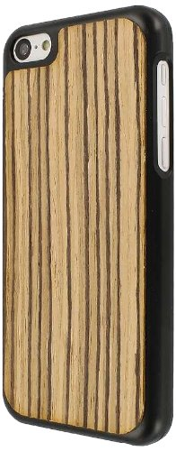 MPERO Embark Series Recycled Wood Case Étui Coque for Apple iPhone 5C - Zebra Wood