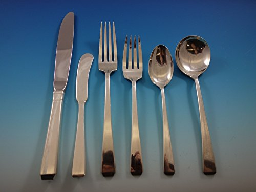 - Craftsman by Towle Sterling Silver Flatware Set 48 Service 299 Pcs Exceptional